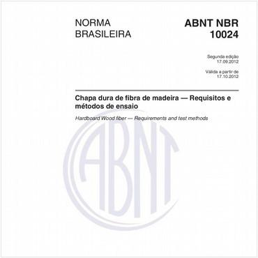 NBR10024 de 09/2012