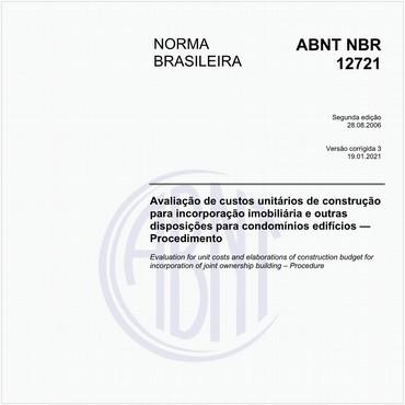NBR12721 de 08/2006