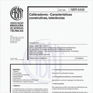 NBR6406 de 12/1980