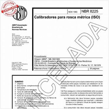 NBR8225 de 11/1983