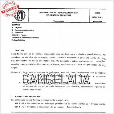 NBR6162 de 10/1989