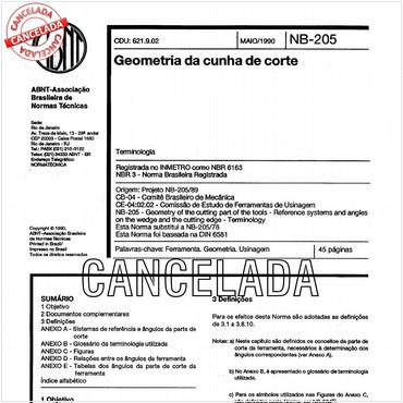 NBR6163 de 05/1990