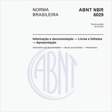NBR6029 de 03/2006