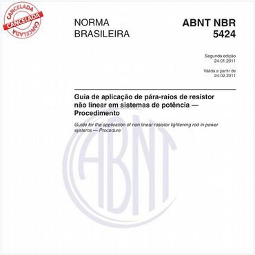 NBR5424 de 01/2011