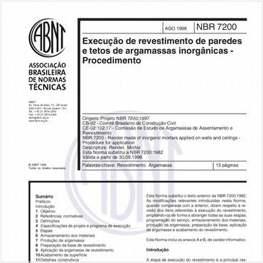 NBR7200 de 08/1998