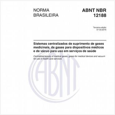 NBR12188 de 03/2016