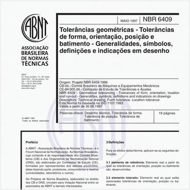 NBR6409 de 05/1997