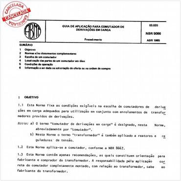 NBR5086 de 04/1985