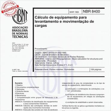 NBR8400 de 03/1984