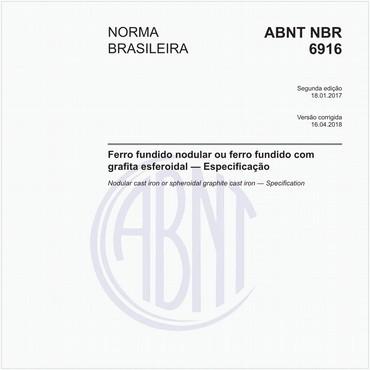 NBR6916 de 01/2017