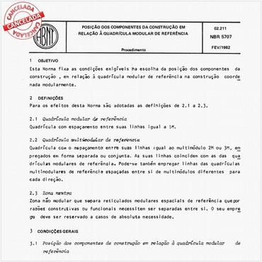 NBR5707 de 02/1982
