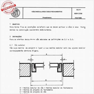 NBR5708 de 02/1982