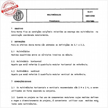 NBR5709 de 02/1982