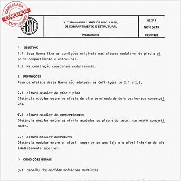 NBR5710 de 02/1982