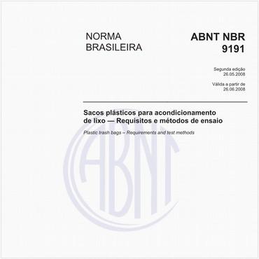 NBR9191 de 05/2008