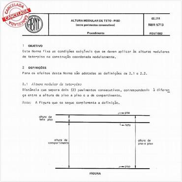 NBR5713 de 02/1982