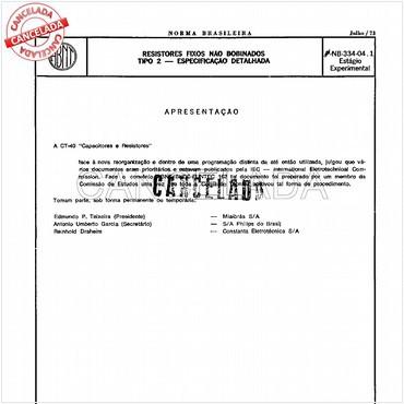 NBR5191 de 01/1996