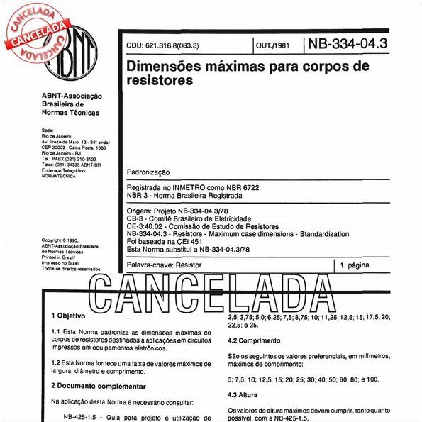 NBR6722 de 10/2012