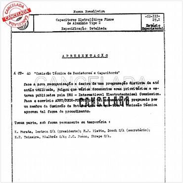 NBR5205 de 01/1996