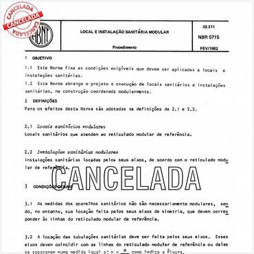 NBR5715 de 02/1982