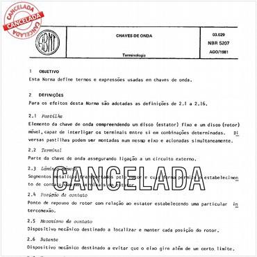 NBR5207 de 08/1981