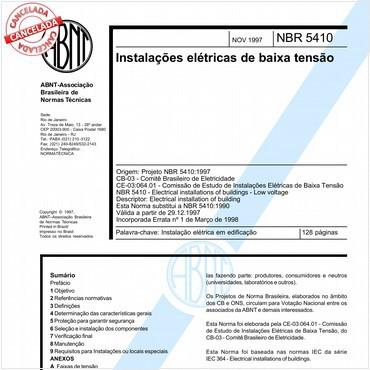 NBR5213 de 01/1996