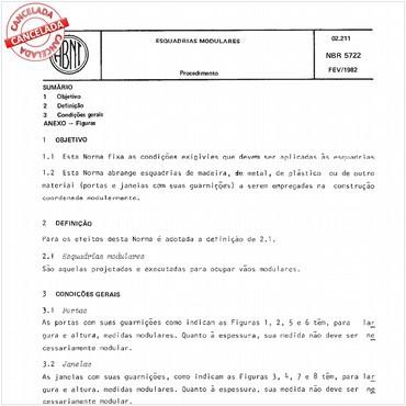 NBR5722 de 02/1982