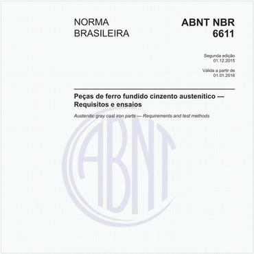 NBR6611 de 12/2015