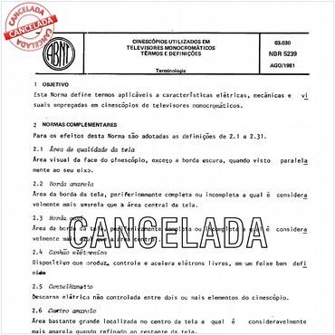 NBR5239 de 08/1981