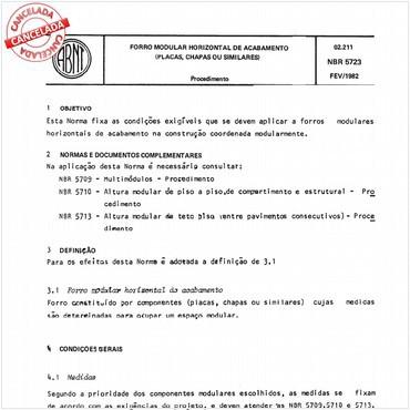 NBR5723 de 02/1982