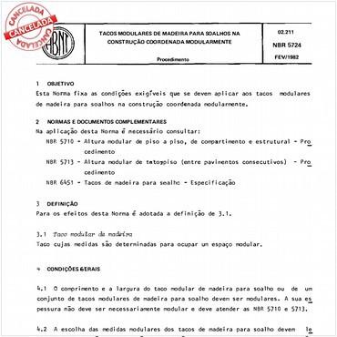 NBR5724 de 02/1982