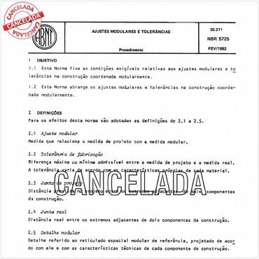 NBR5725 de 02/1982