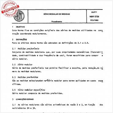 NBR5726 de 02/1982