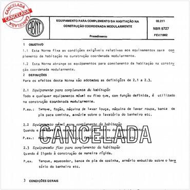NBR5727 de 02/1982