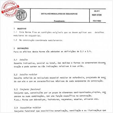 NBR5728 de 02/1982