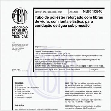 NBR10846 de 06/1988