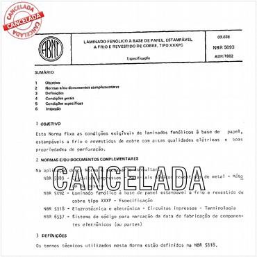 NBR5093 de 04/1982