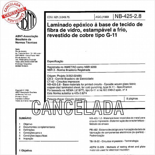 NBR5099 de 10/2012