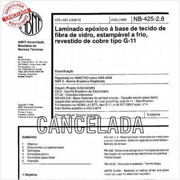 NBR5099 de 08/1989