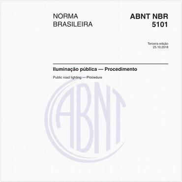 NBR5101 de 10/2018