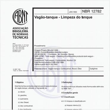 NBR12782 de 01/1993