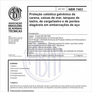 NBR7403 de 02/1991