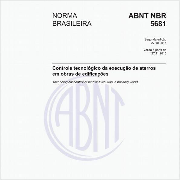 NBR5681 de 10/2015