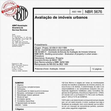 NBR5676 de 08/1990