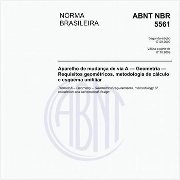 NBR5561 de 09/2009