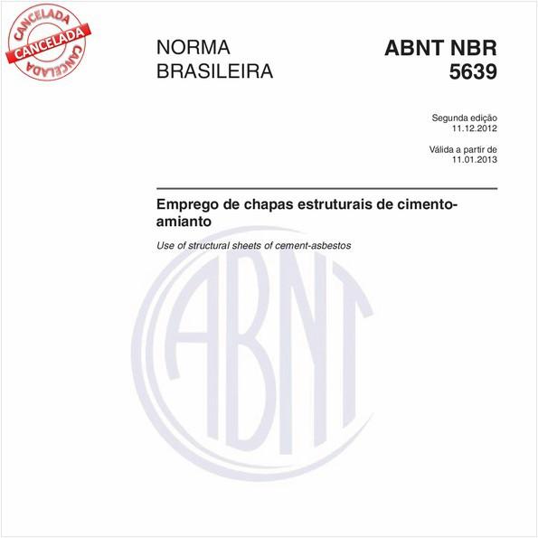 NBR5639 de 09/2014