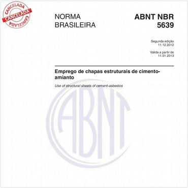 NBR5639 de 12/2012