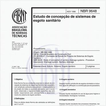 NBR9648 de 11/1986