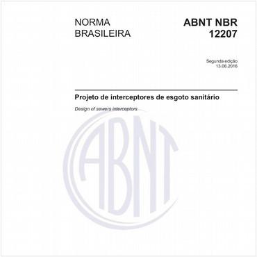 NBR12207 de 06/2016