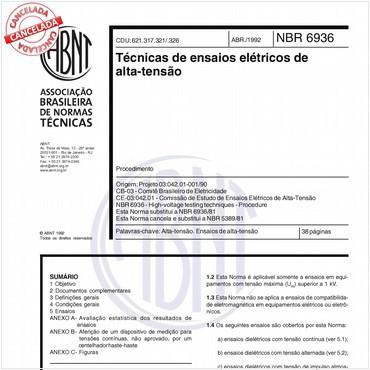 NBR6936 de 04/1992